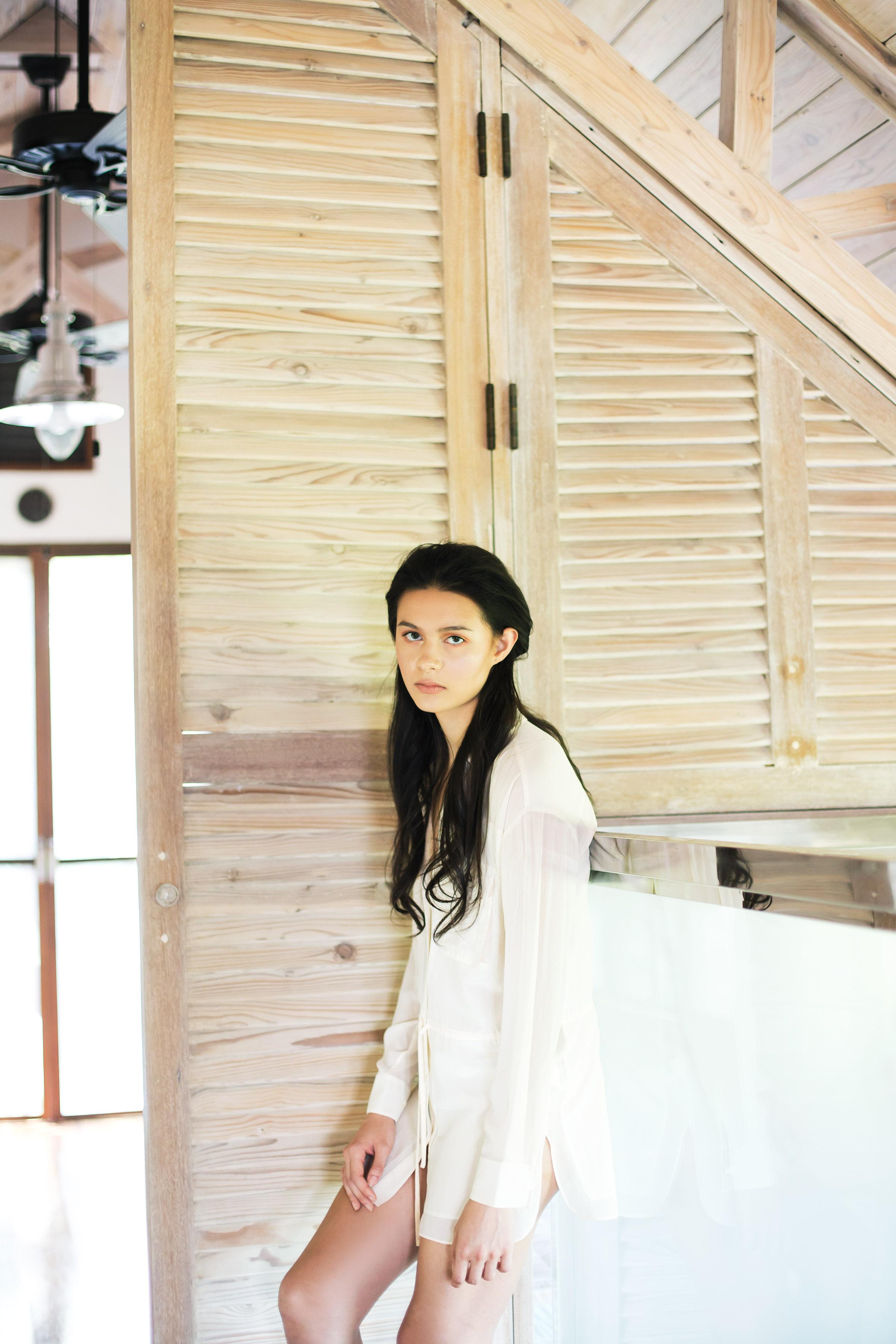 Shirt dress, P2,290, H&M, SM City Makati.