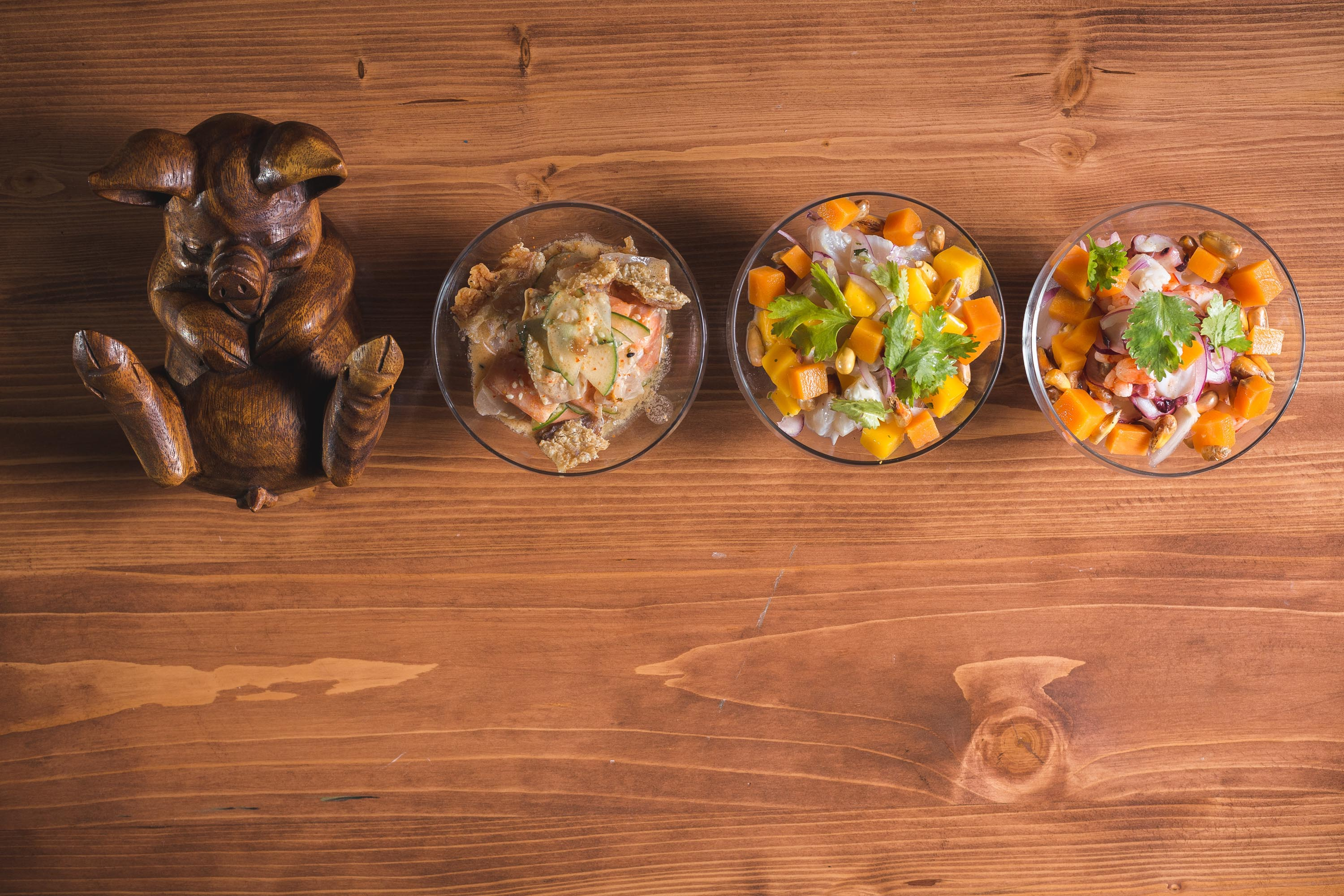 Cocina Peruvia offers a variety of ceviches, from the Ceviche Mixto, Ceviche Nikkei, and Ceviche Pescado.