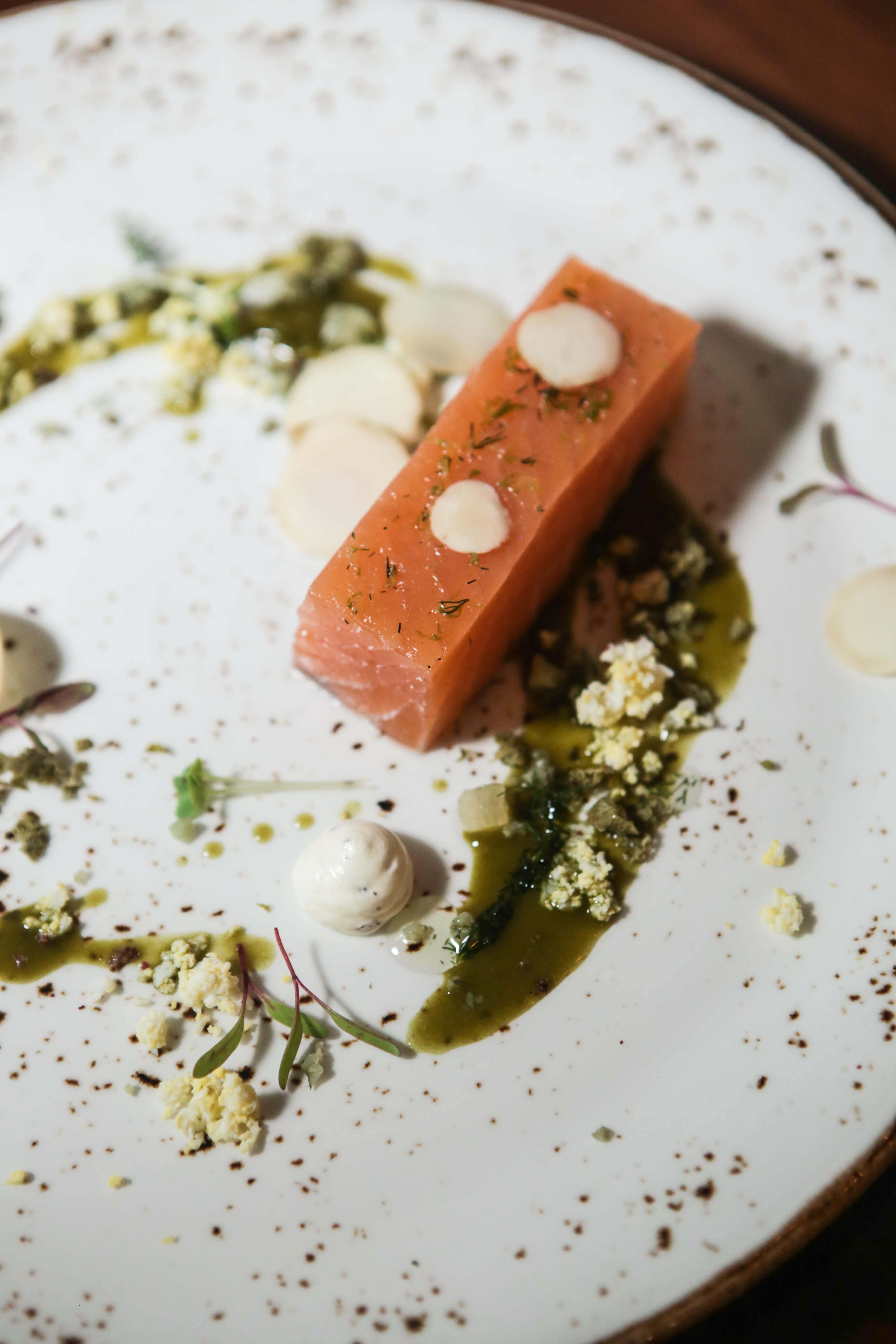 Homemade Marinated Salmon