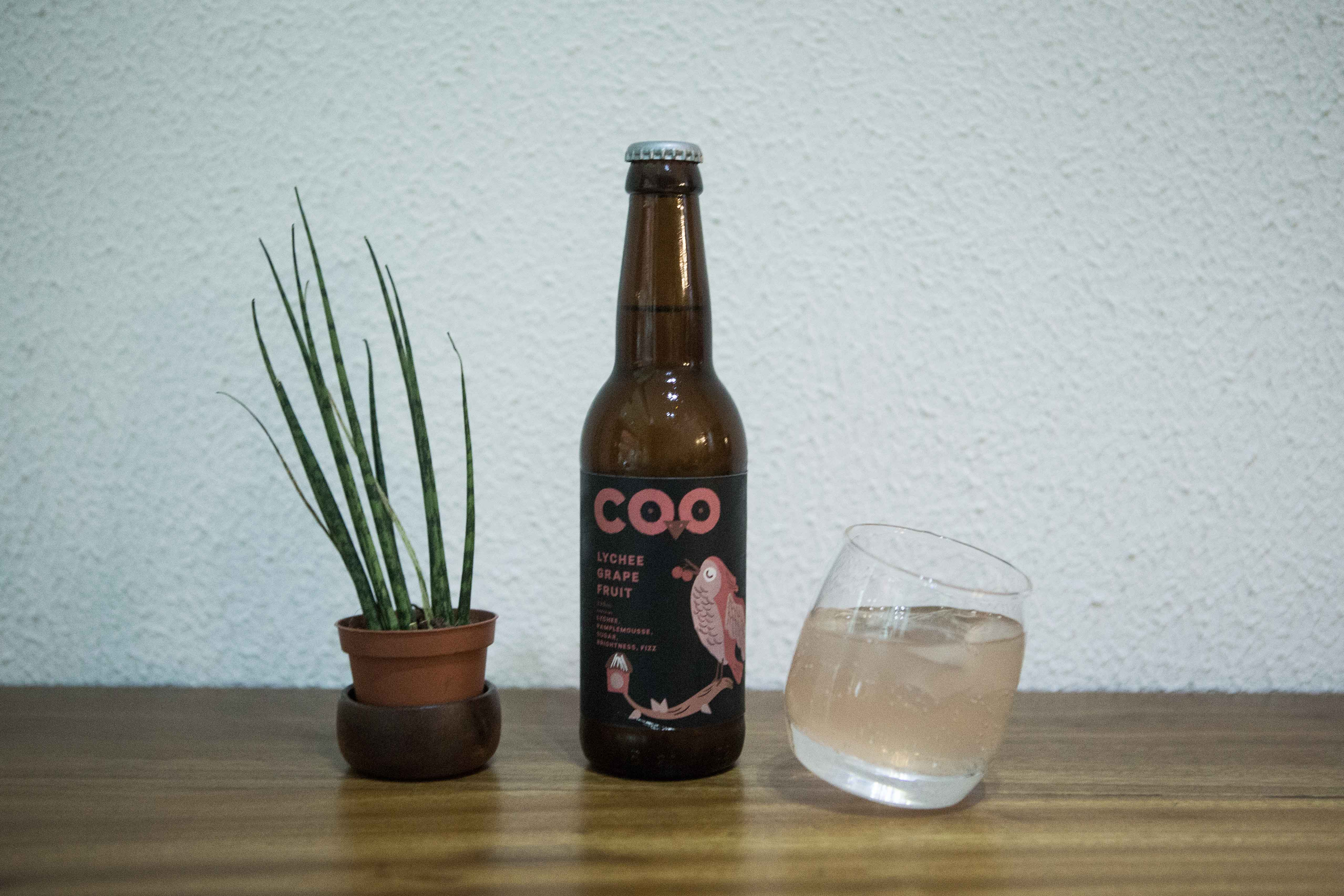 If you're not really feeling up to drinking coffee, you can also opt to grab a glass of COO Soda, which comes in three flavors.