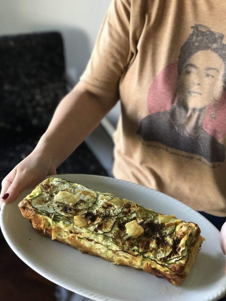 nolisoli blog crustless 7-egg quiche