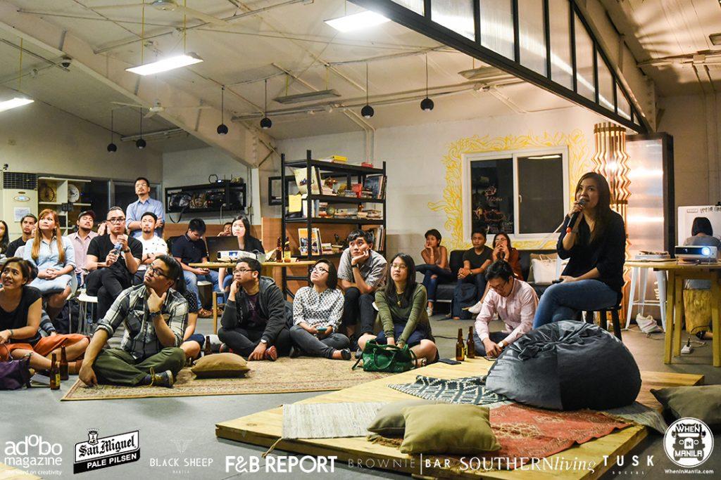 nolisoli event makers set up food edition mylene chung