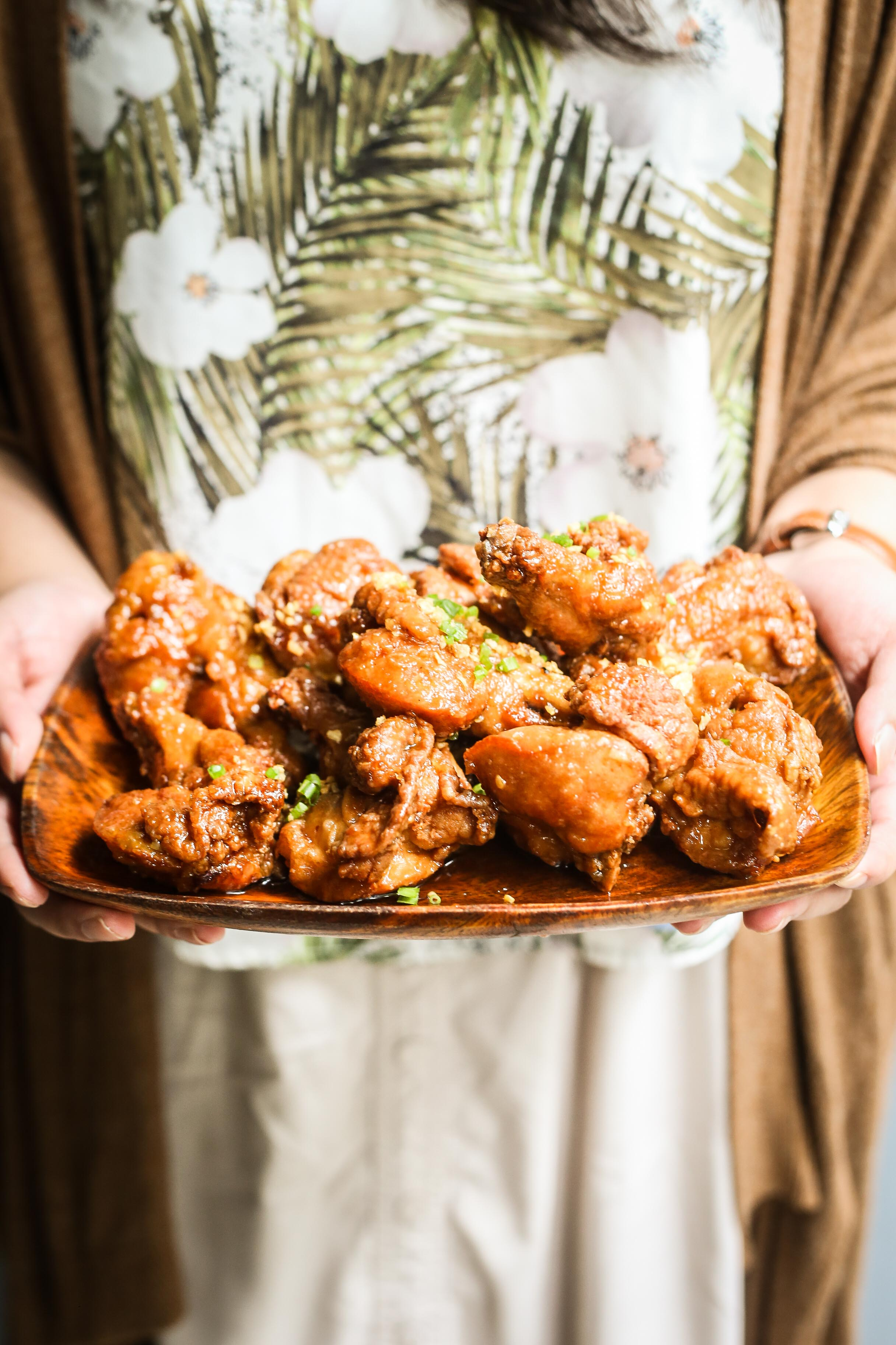 nolisoli eats recipe caramelized patis chicken wings manam