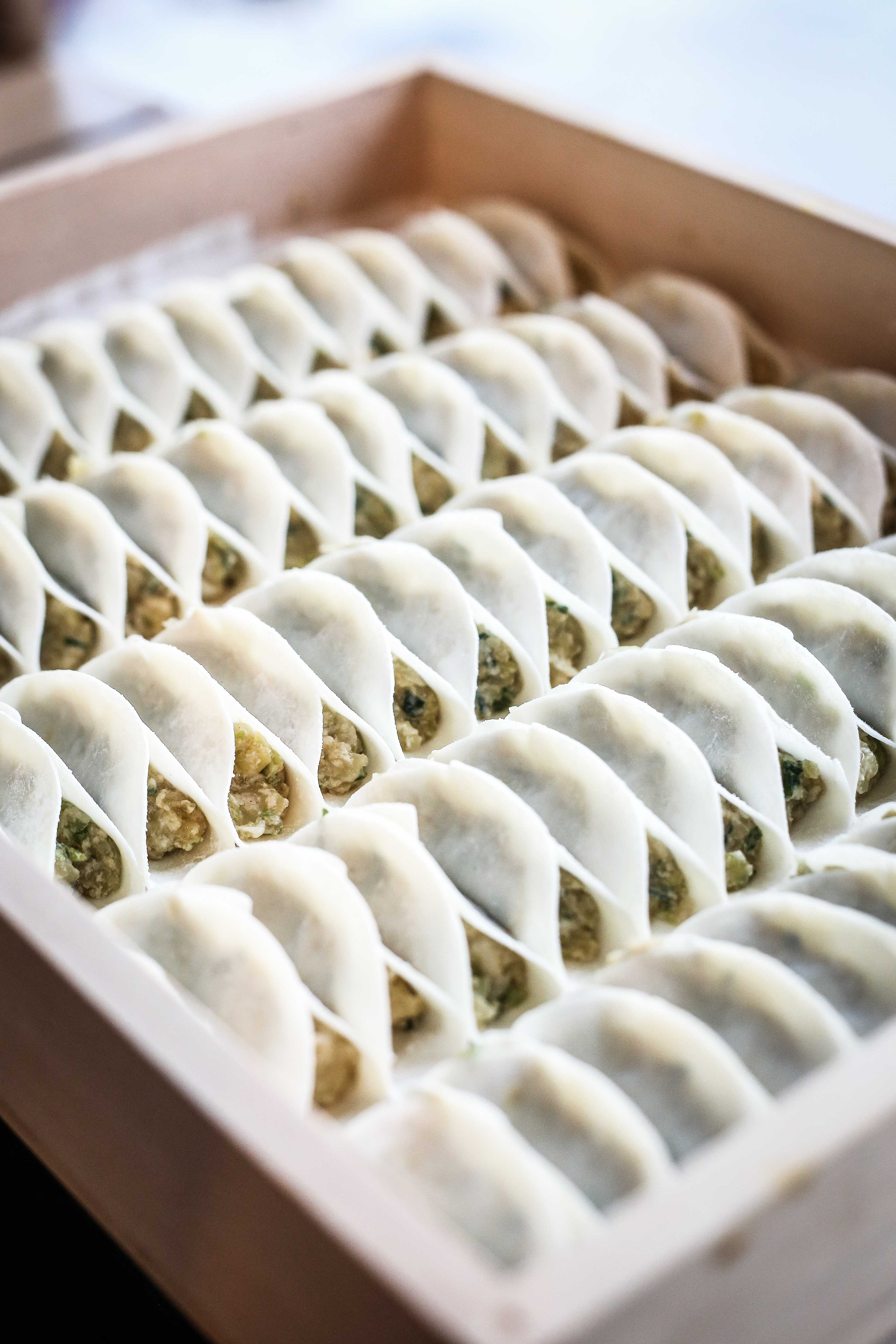 In Japan's Chao Chao Gyoza, 3,000 pieces of gyoza could be sold in a day.