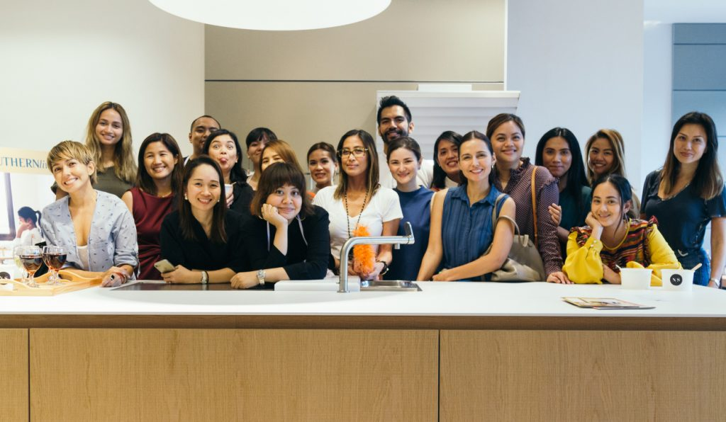 Attendees of the second Nolisoli cooking class with Bea Ledesma