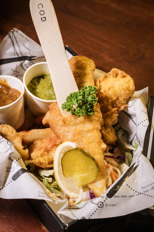 nolisoli eats cargofish fish and chips