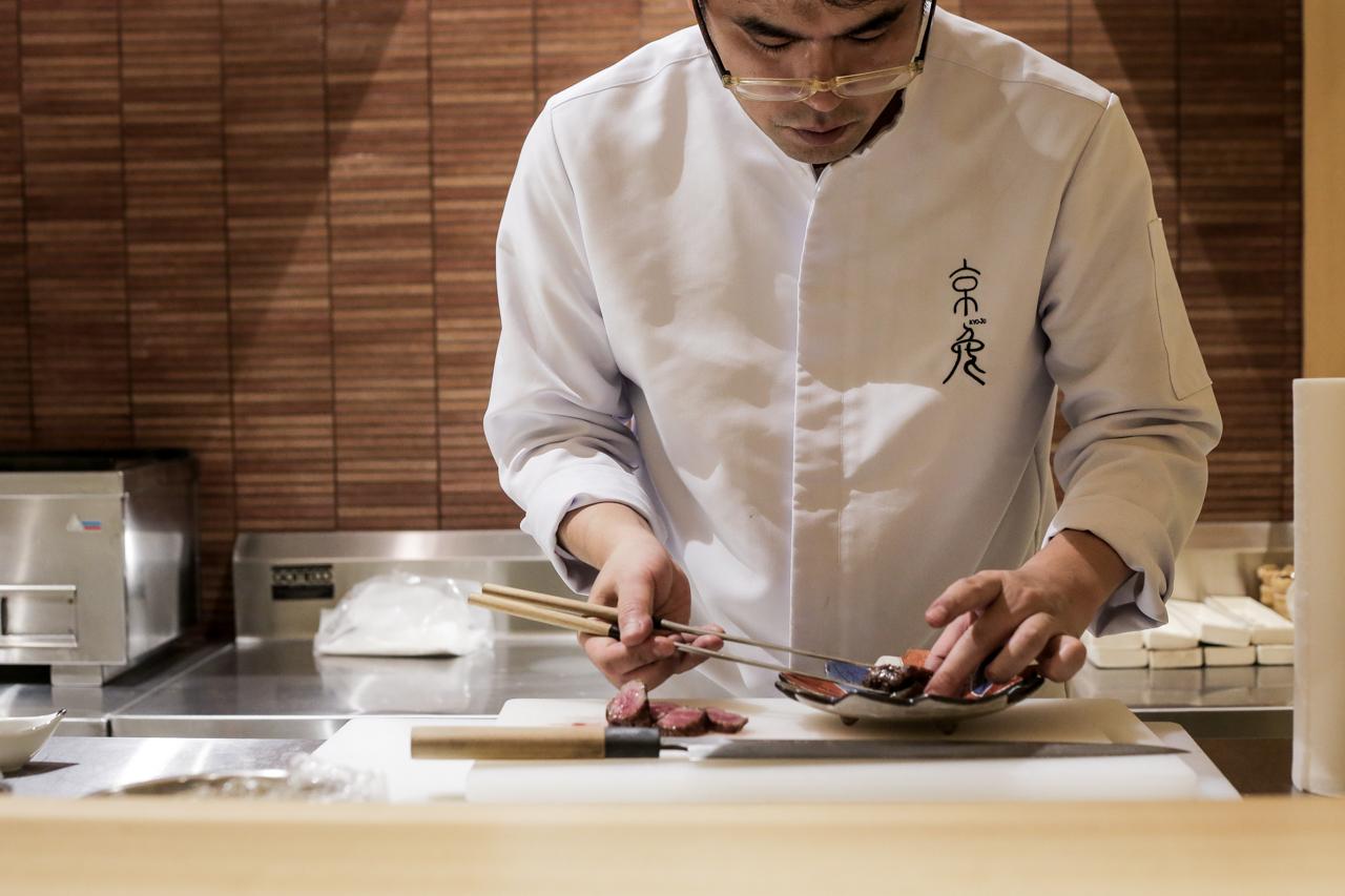 nolisoli eats restaurant kyoto kaiseki
