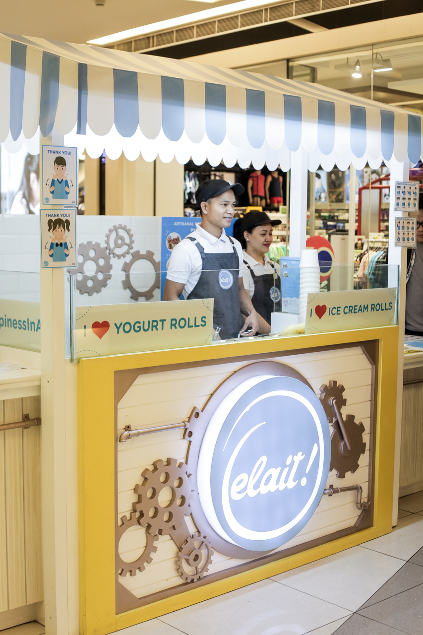 The stall can be found on the second floor of Century City Mall