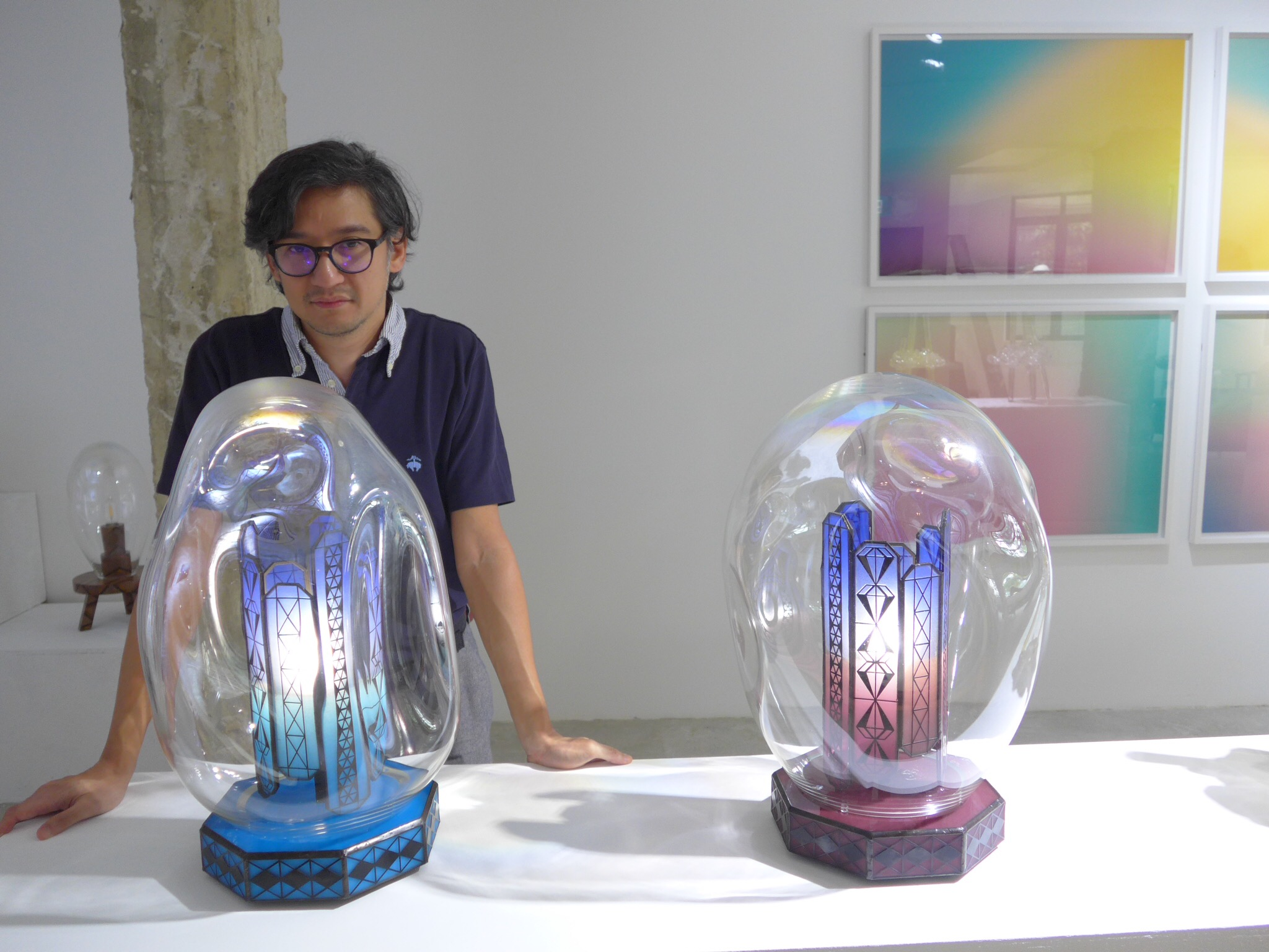 """From the Spektacularis exhibition, """"Studio Glass: Method in the Madness""""."""