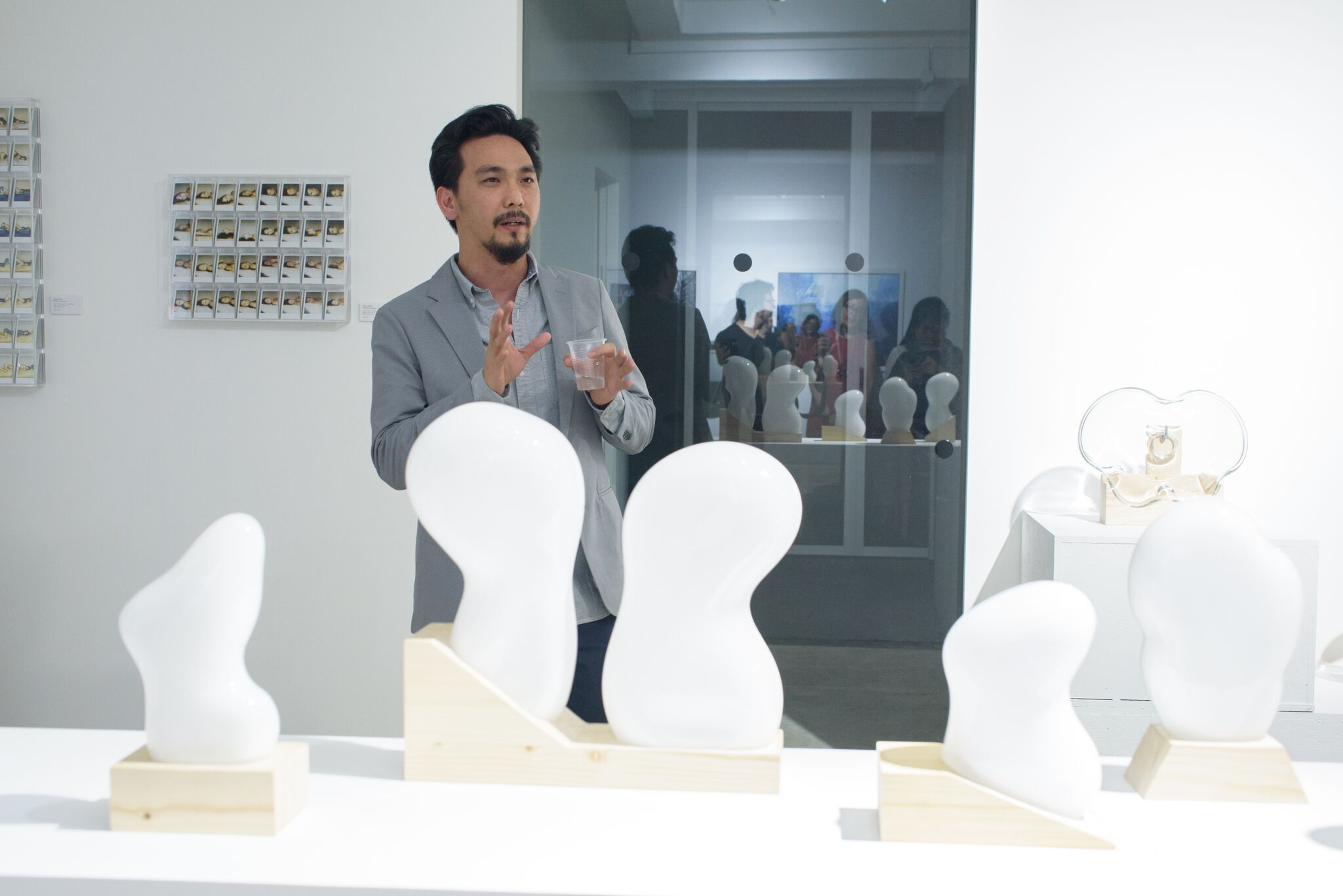 """From the Spektacularis exhibition, """"Studio Glass: Method in the Madness"""" presented by Industry+ at their gallery for Singapore Art Week last January."""