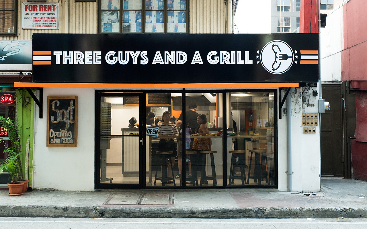 Image result for Three Guys and A Grill Makati