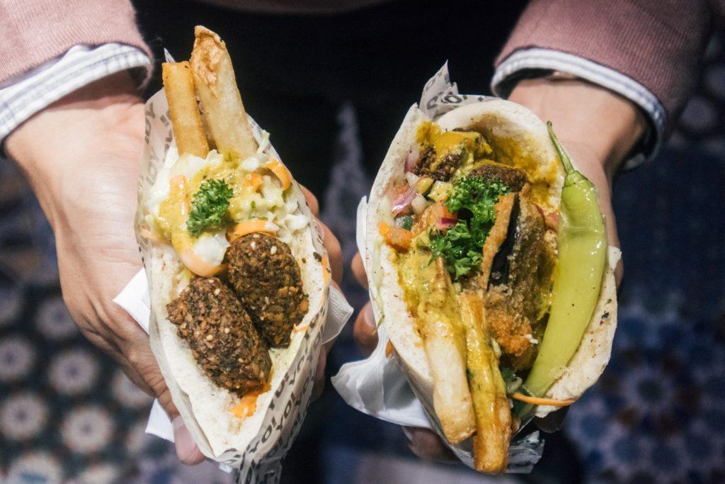 nolisoli eats restaurant falafel yo