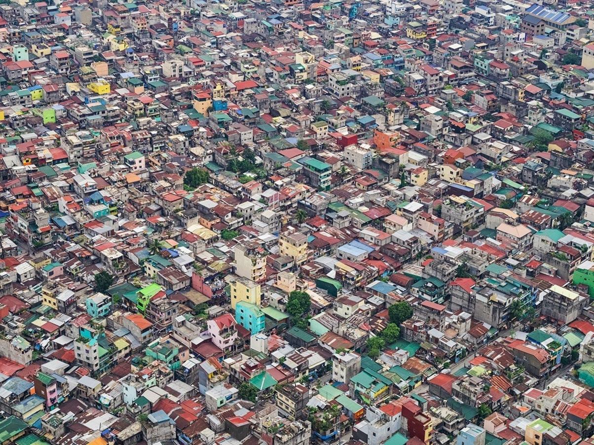 Manila aerial view