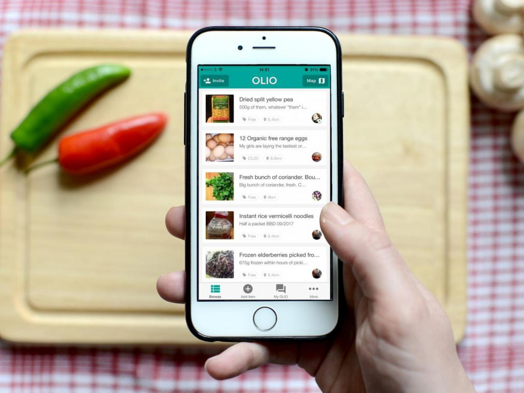 nolisoli be fixture eats food waste app
