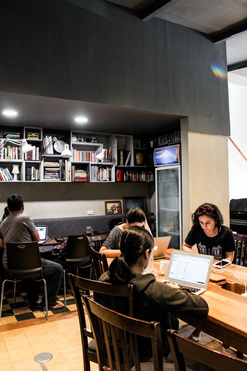 nolisoli eats restaurant hustle cafe racket room