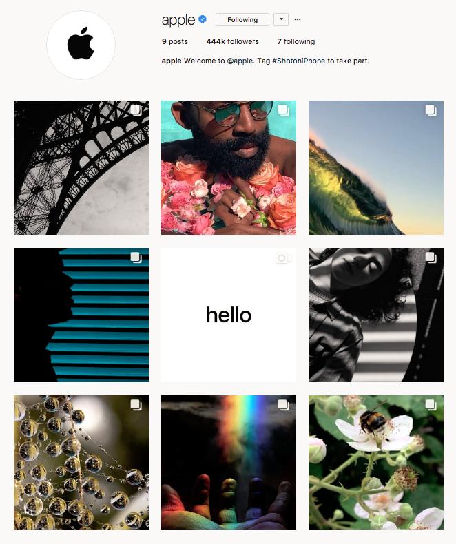 nolisoli be apple new instagram