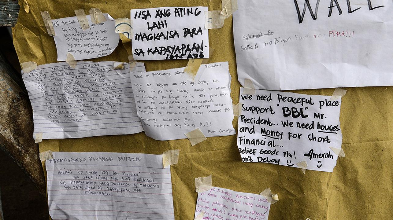 marawi evacuation camps