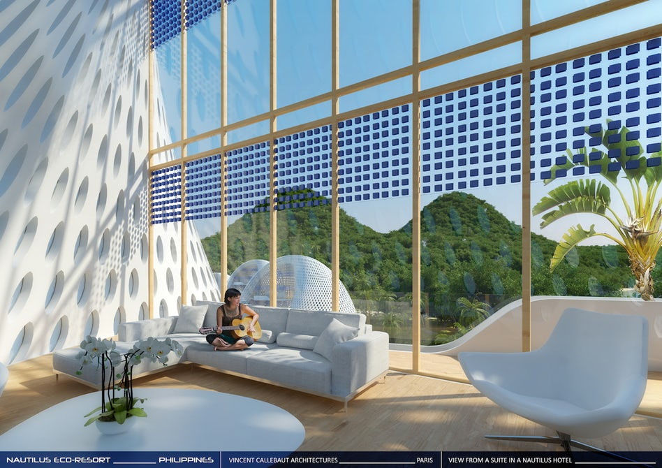 This Futuristic Eco Resort In Palawan Has Shell Shaped