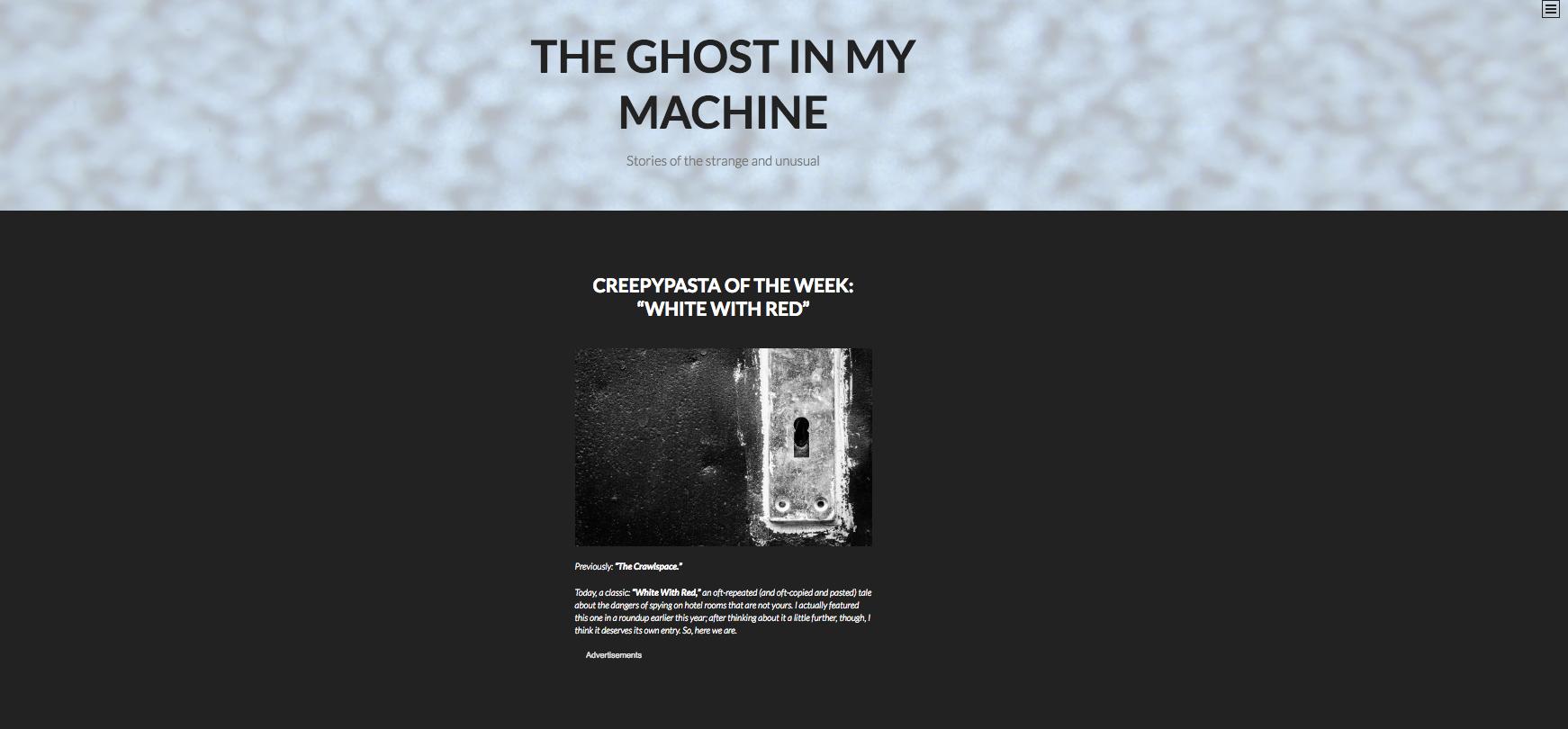 nolisoliph fixture halloween scary websites