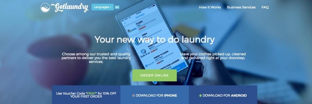 nolisoli be fixture app services getlaundry