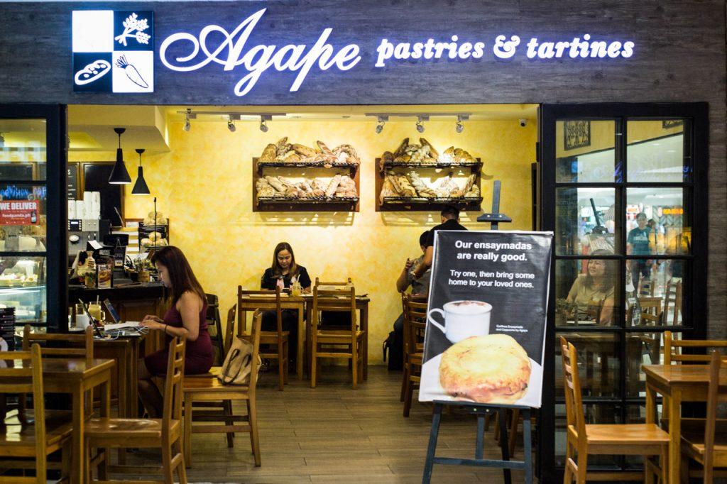 nolisoli eats restaurant agape