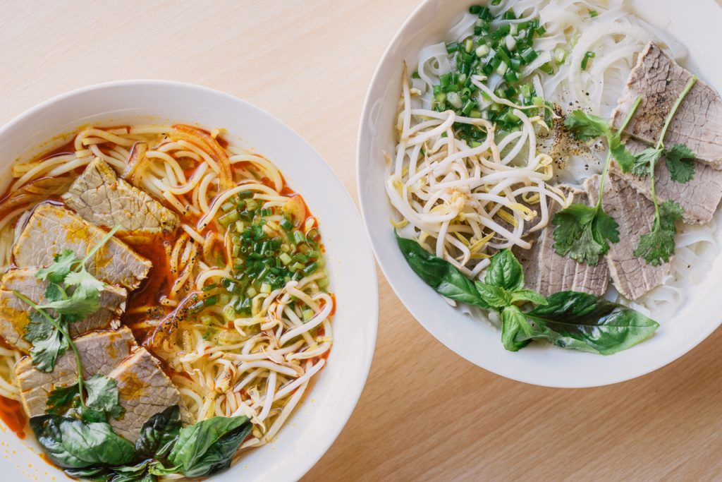 Saigon Pho introduces pho's lesser known relative, the bún bò