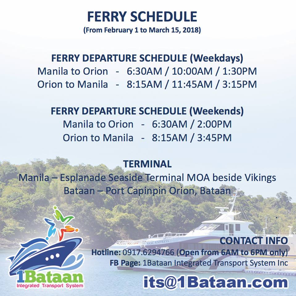 Go to Bataan from Manila in just 50 minutes - NOLISOLI