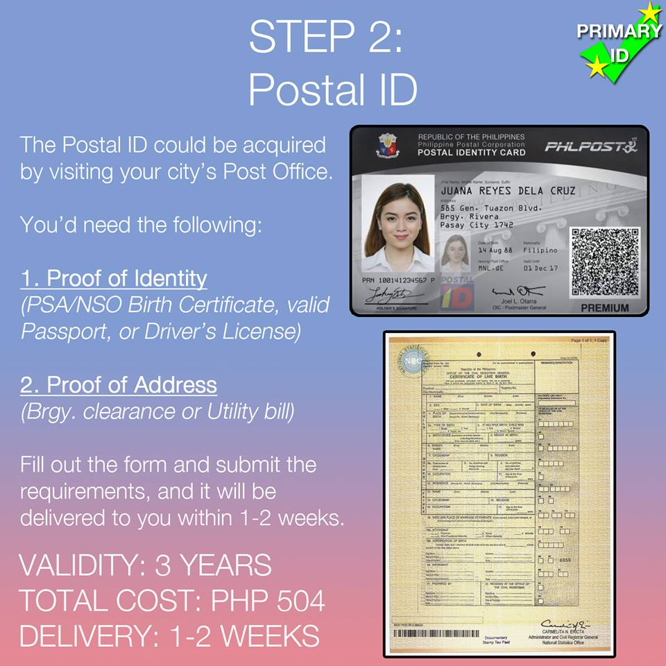 How to start your government ID collection - NOLISOLI