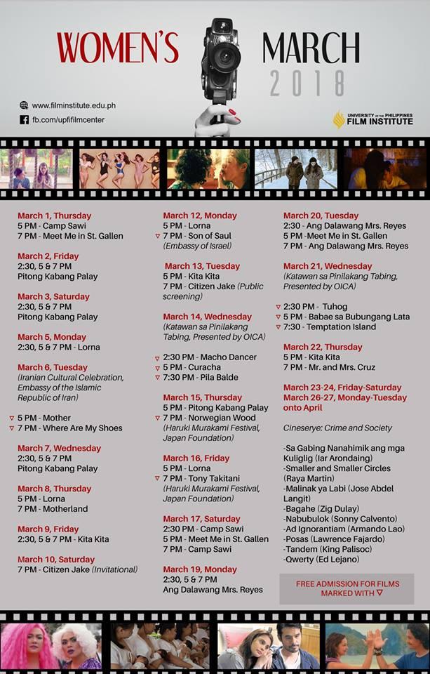 nolisoli women's march month films