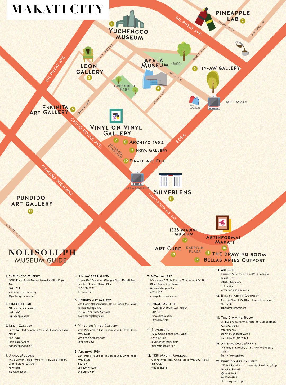nolisoli museum art gallery map makati