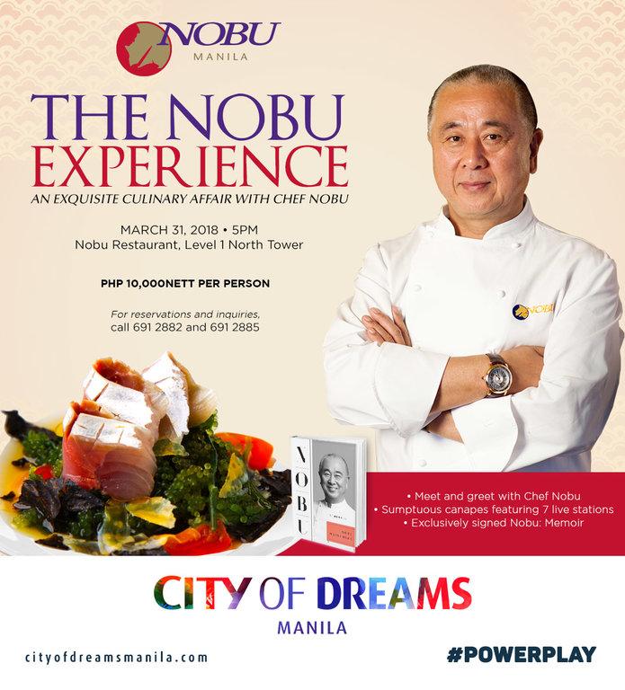 chef nobu matsuhisa nobu experience dinner manila