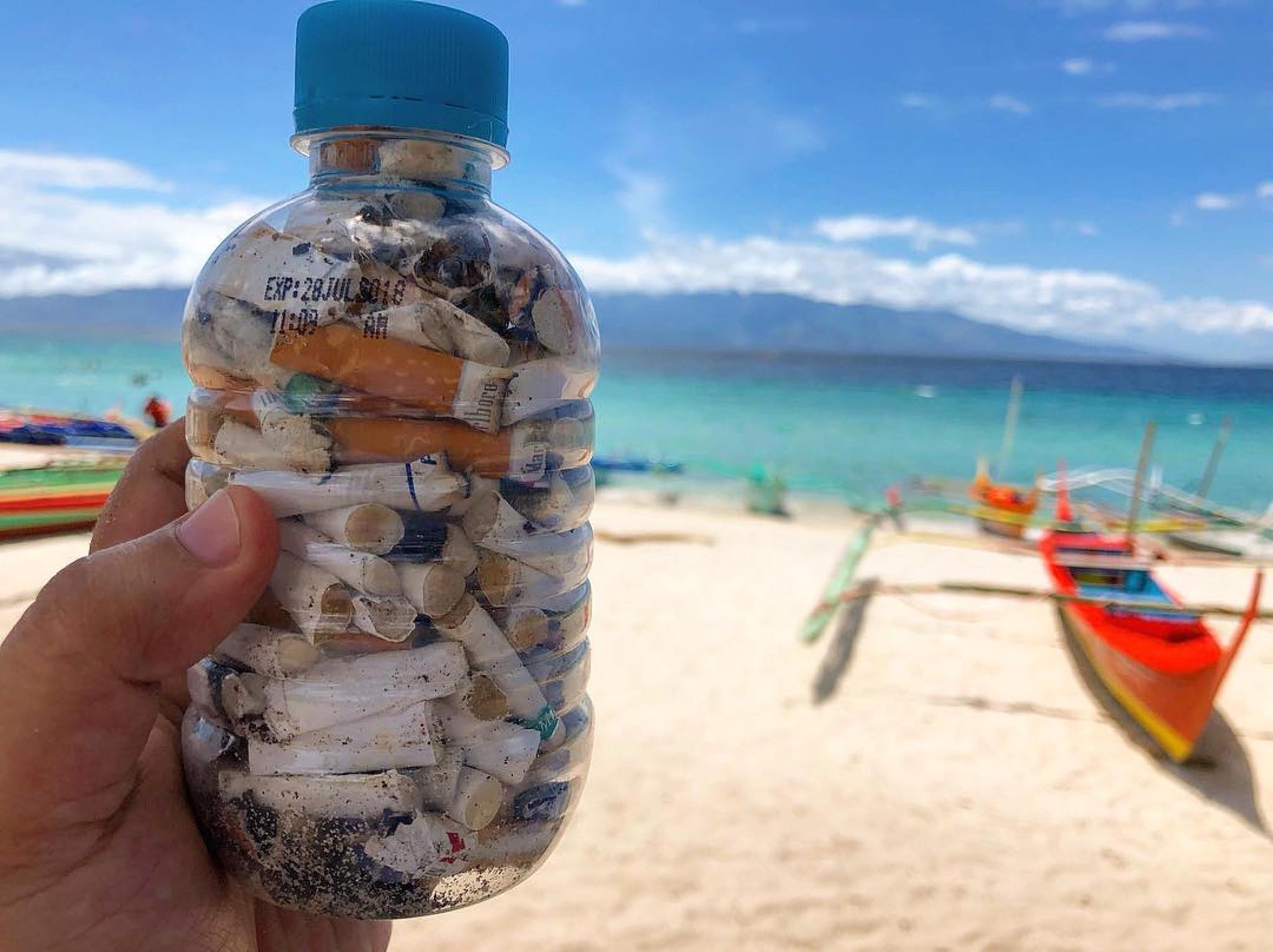 nolisoli fixture SBMA Ecology Center subic cigarette butts smoking waste upcycle recycling