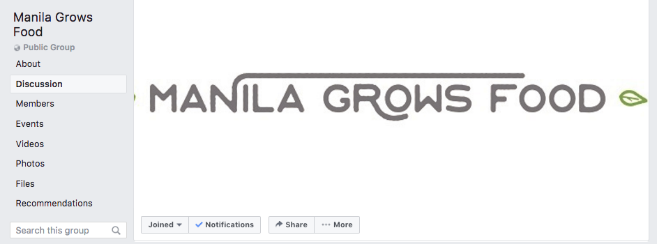 nolisoli manila grows food group facebook