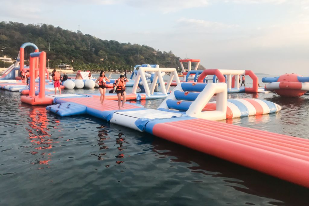 inflatable island summer waterparks