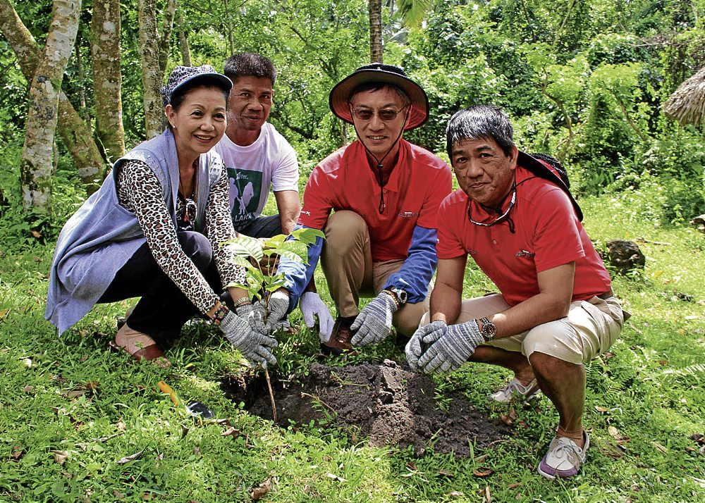 nolisoliph tree planting capiz
