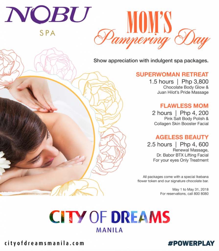 nolisoli mother's day promos packages moms