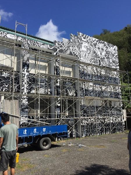 nolisoli dexter dex fernandez garapata artist taiwan vuvu paiwan exhibit painting art mural filipino artist news