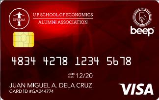 nolisoli up school of economics alumni card