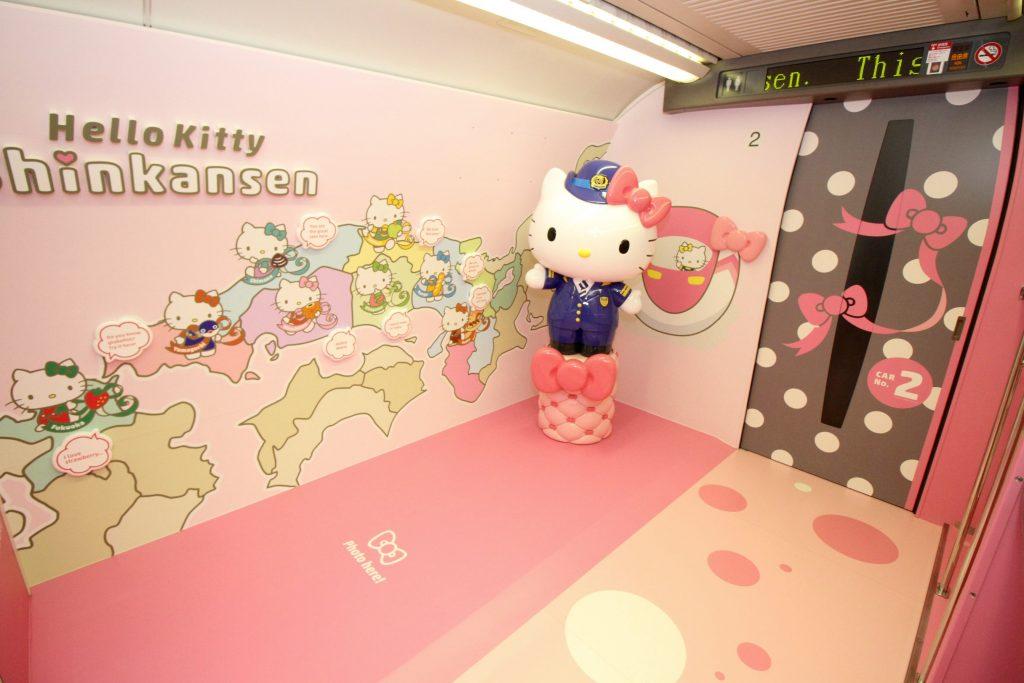 JAPAN-TRANSPORT-TRAIN-HELLO KITTY AFP