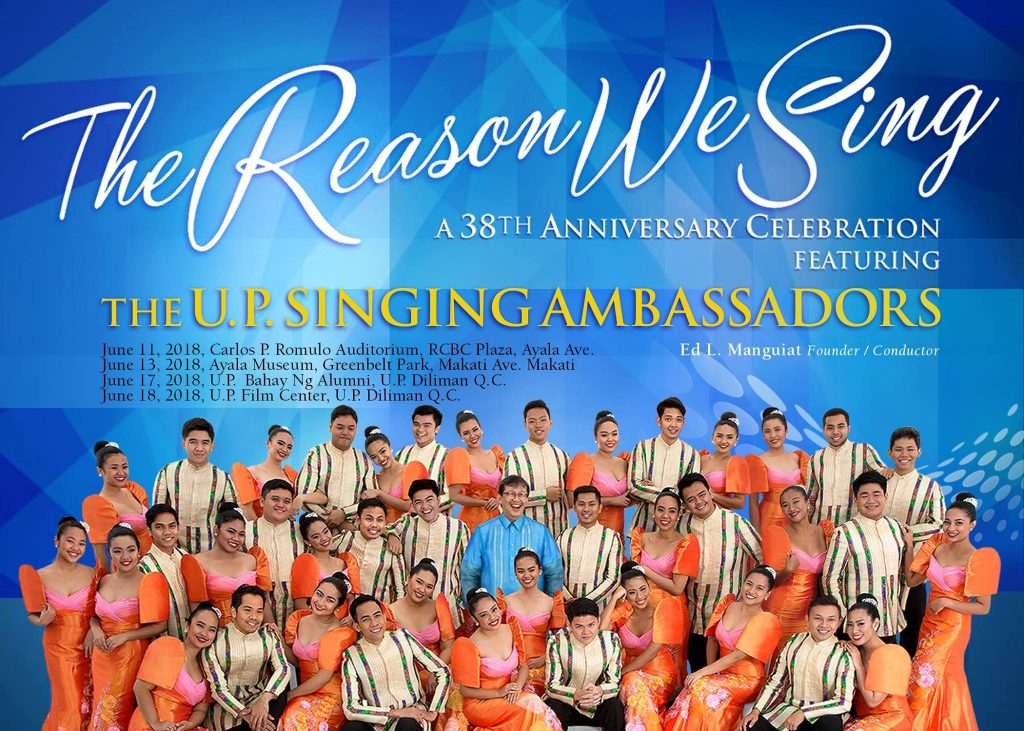 UP Singing Ambassadors