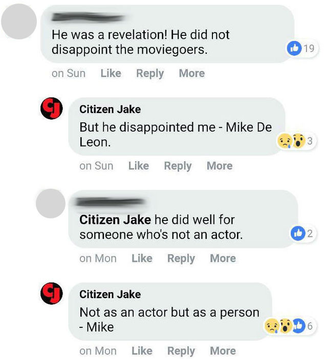nolisoli fixture breaking news culture film movies citizen jake mike de leon atom araullo facebook fight feud response