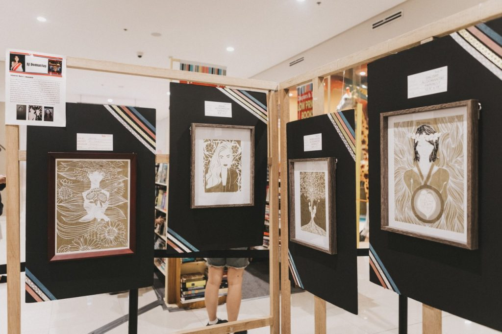 nolisoli ayala malls the 30th Sining at Kalayaan Papercutters Guild of the Philippines