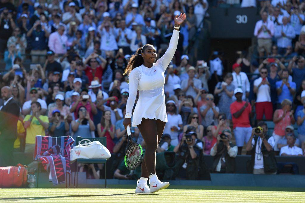 Serena Williams Wimbledon 2018 AFP