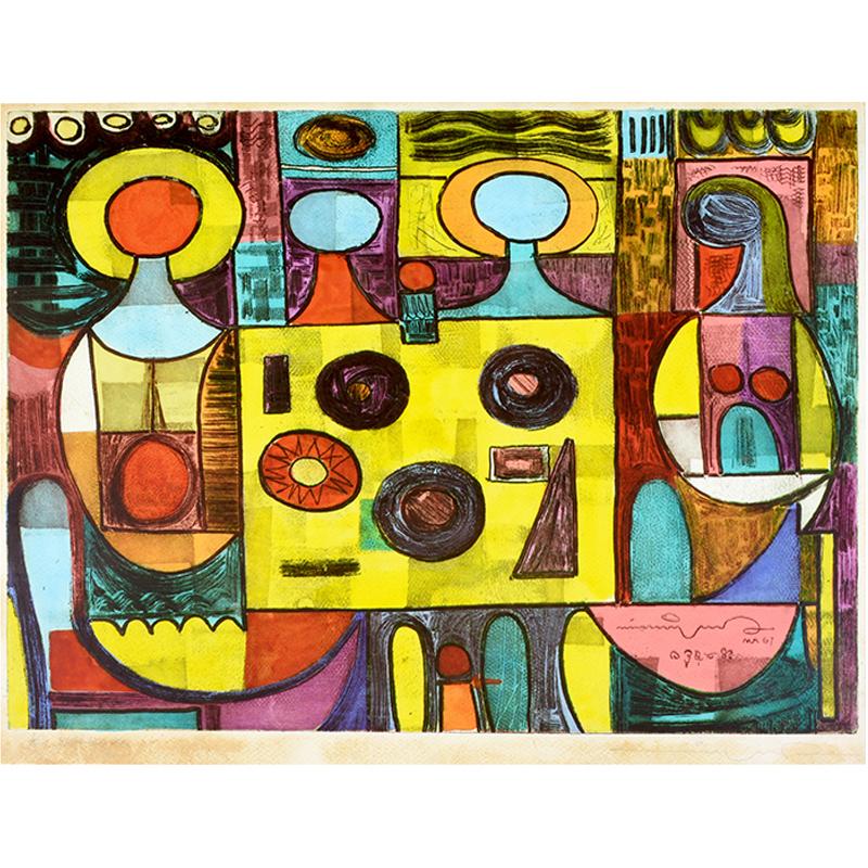 nolisoli art events salcedo auctions gavel and block collectibles prints manuel rodriguez lithograph