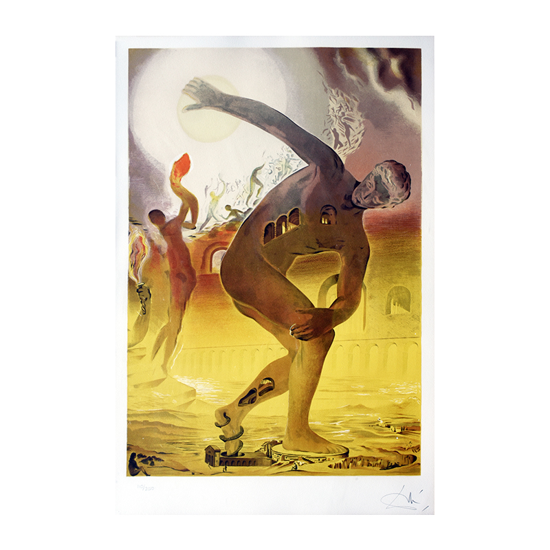 nolisoli art events salcedo auctions gavel and block collectibles lithograph salvador dali