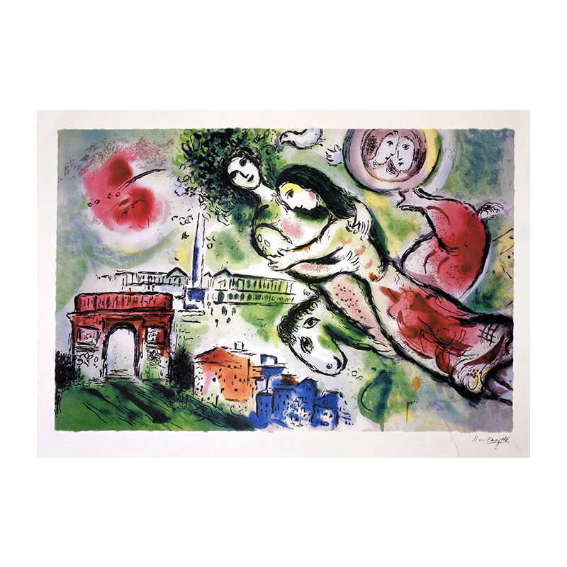 nolisoli art events salcedo auctions gavel and block collectibles marc chagall lithograph