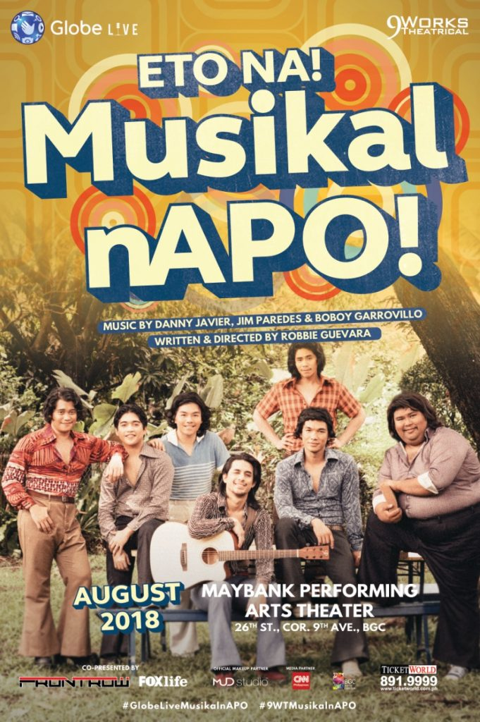 This new musical is a throwback to Manila in the '70s - NOLISOLI