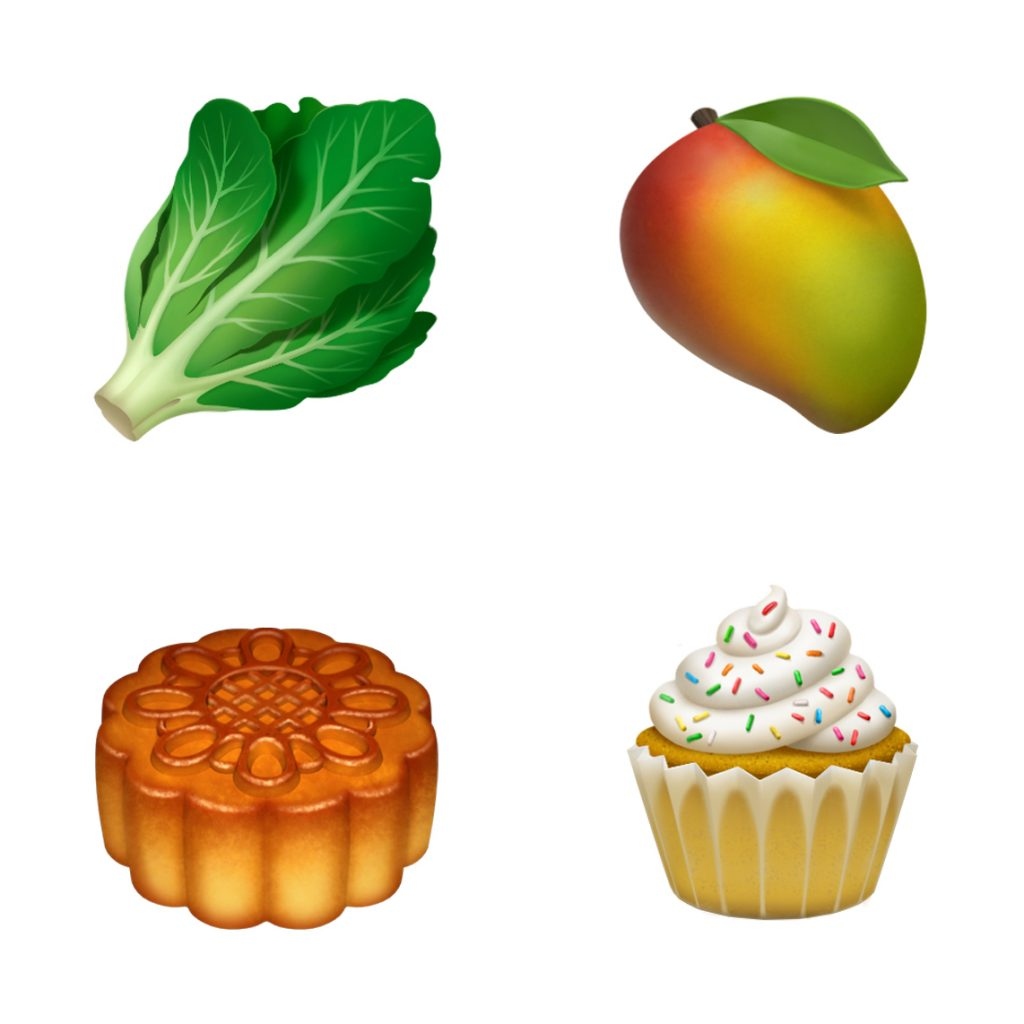new emojis apple