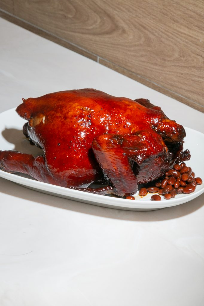 Hawker Chan whole roasted chicken