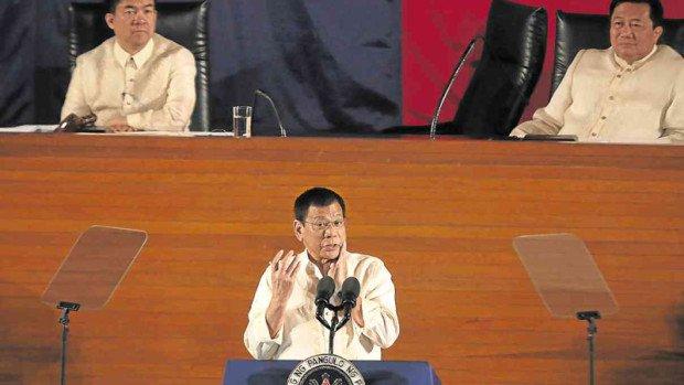 nolisoli fixture be culture politics philippines president rodrigo duterte war on drugs state of the nation address sona